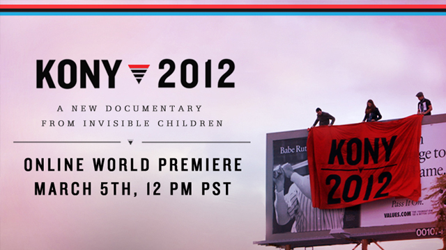 Kony 2012 Invisible Children documentary cover photo