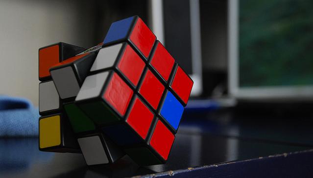 rubix cube unsolved