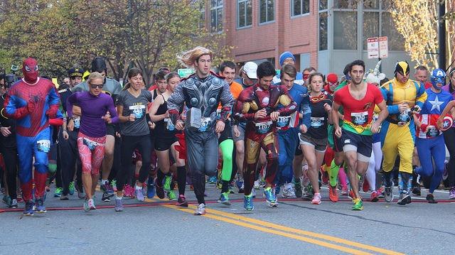 costume race fundraiser