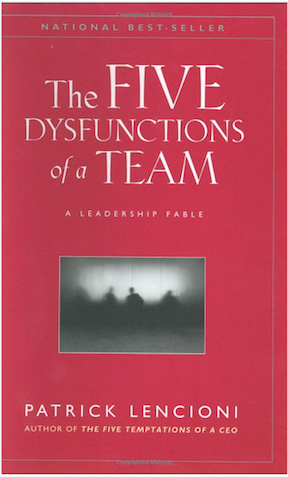 A Must-Read Book for Nonprofit Management, The Five Dysfunctions of a Team