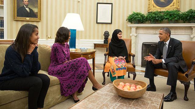 Malala-President-Obama