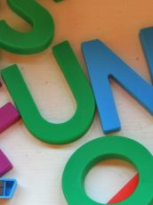 refrigerator magnets letters spelling fun