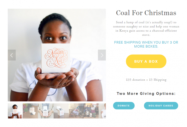 Adventure Project last minute coal gift idea