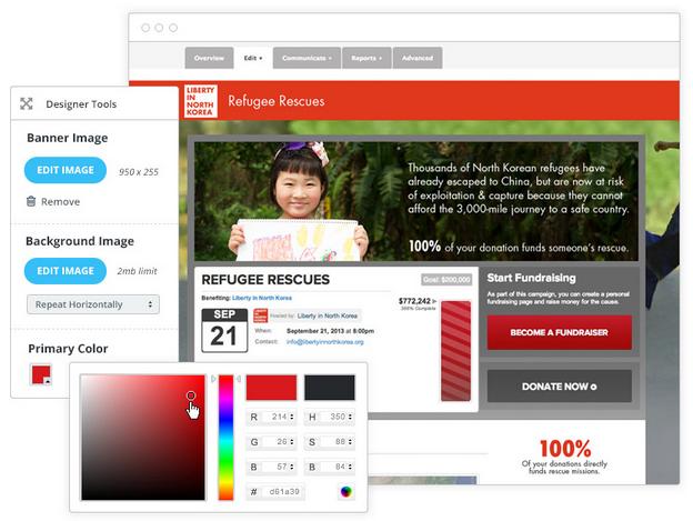 online fundraising platform