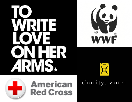 nonprofit logo brand