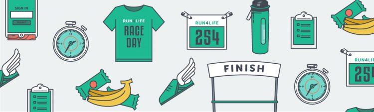 run/walk race day road map