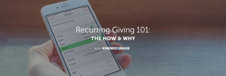 How Recurring Giving Creates Sustainable Revenue