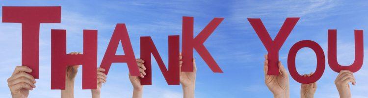 nonprofit thank you
