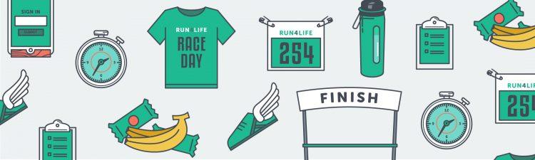 run/walk race day roadmap