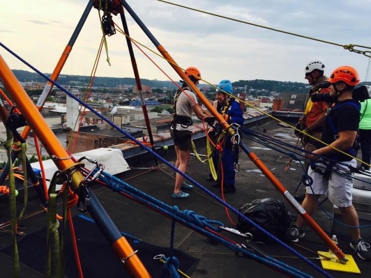 Episcopal Retirement Homes Over the Edge fundraising