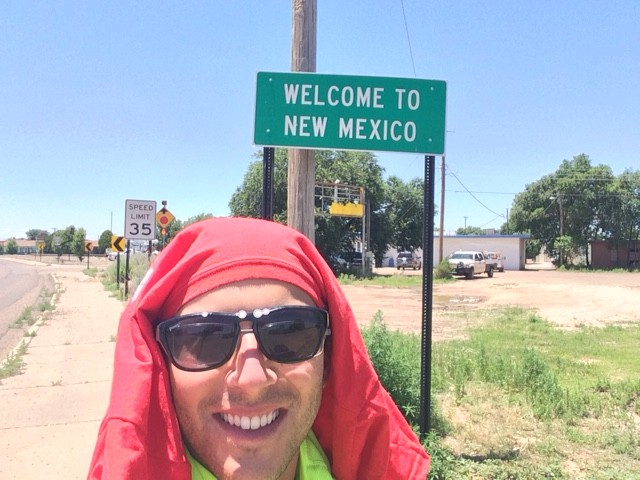Walk Across America Stop In New Mexico
