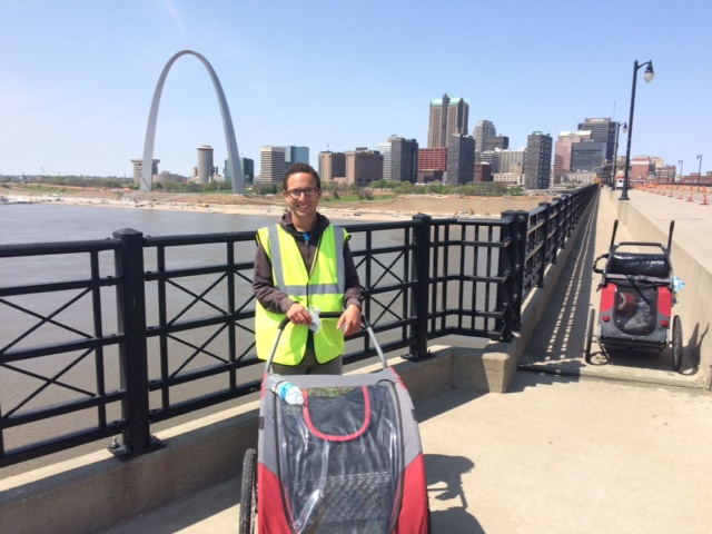 Walk across america cart