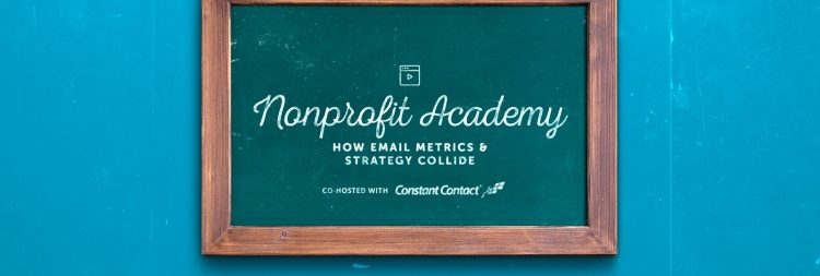 Advanced email strategies for nonprofits webinar