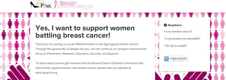 Breast Cancer Charities of America