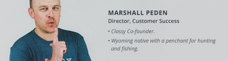 marshall peden customer success core value