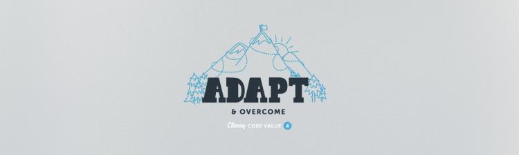 Classy Core Value Adapt Overcome