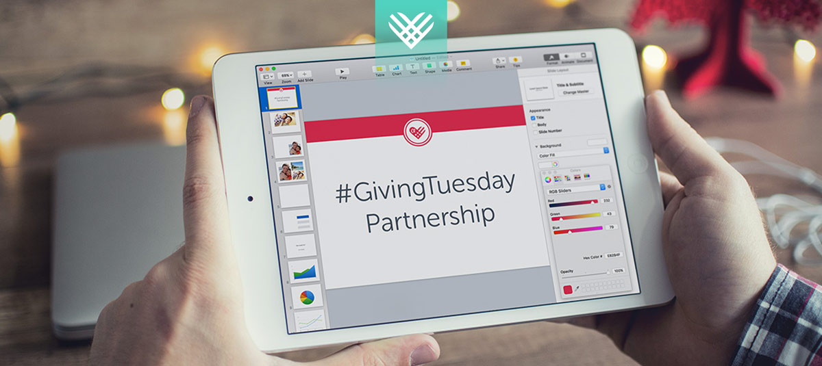 corporate sponsorship giving tuesday