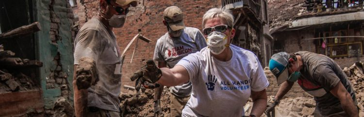 disaster relief nepal