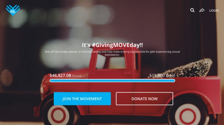 Giving Tuesday Redeeming Love