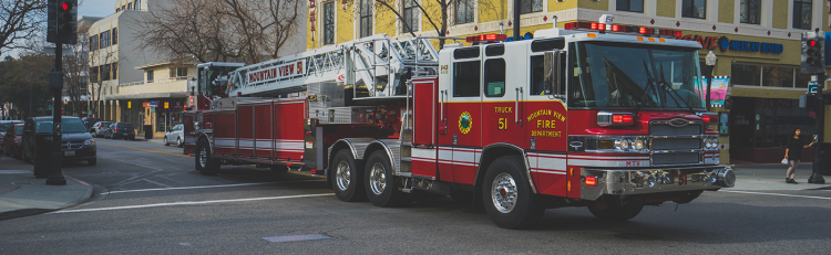 Image of firetruck.
