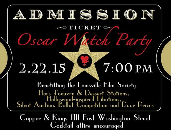 Oscar Watch Party Ticket