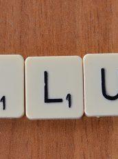 "Scrabble tiles spelling ""Failure"""