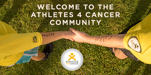 welcome series emails athletes 4 cancer