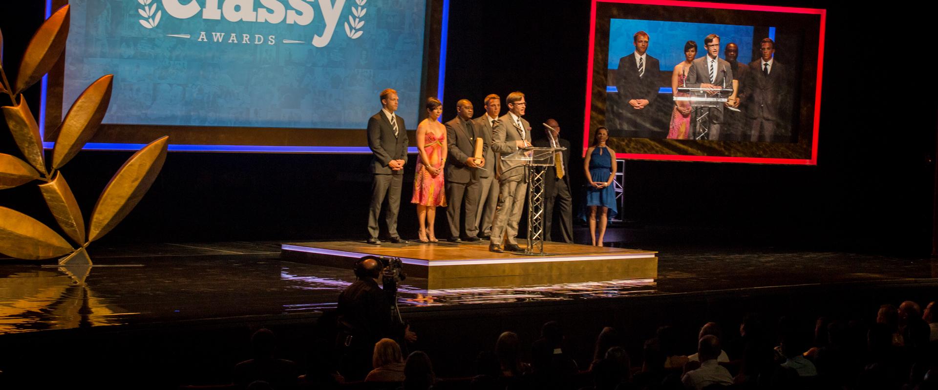 Classy awards panel