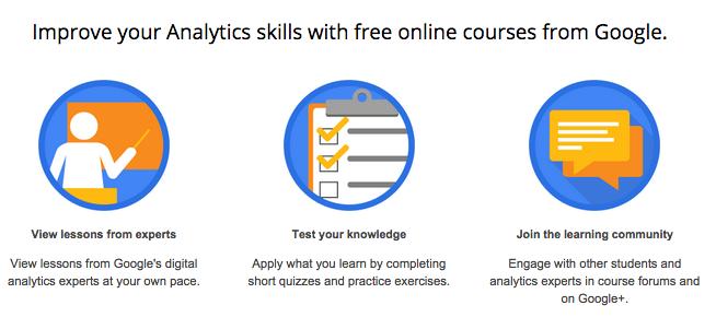 Google Analytics online course