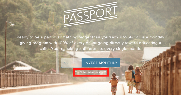 Passport Recurring Revenue Program, social proof