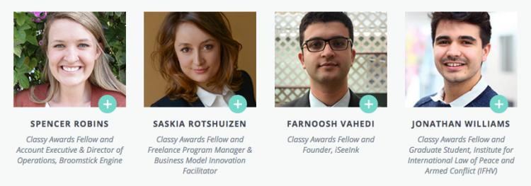 social sector Classy Awards fellows