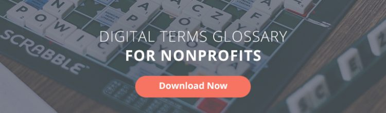 Digital Marketing Terms Glossary for Nonprofits