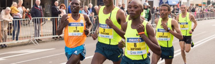 Image of running event participants racing