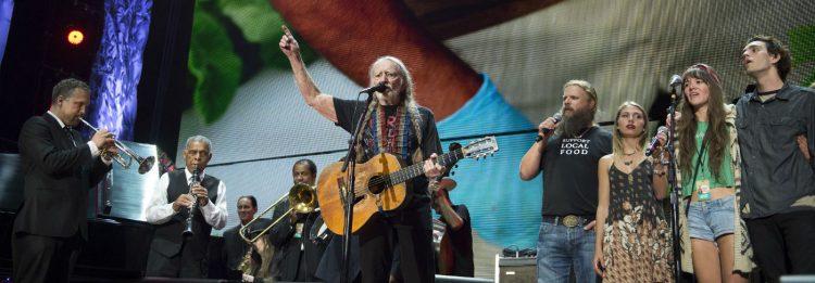 Willie Nelson Farm Aid celebrity activists