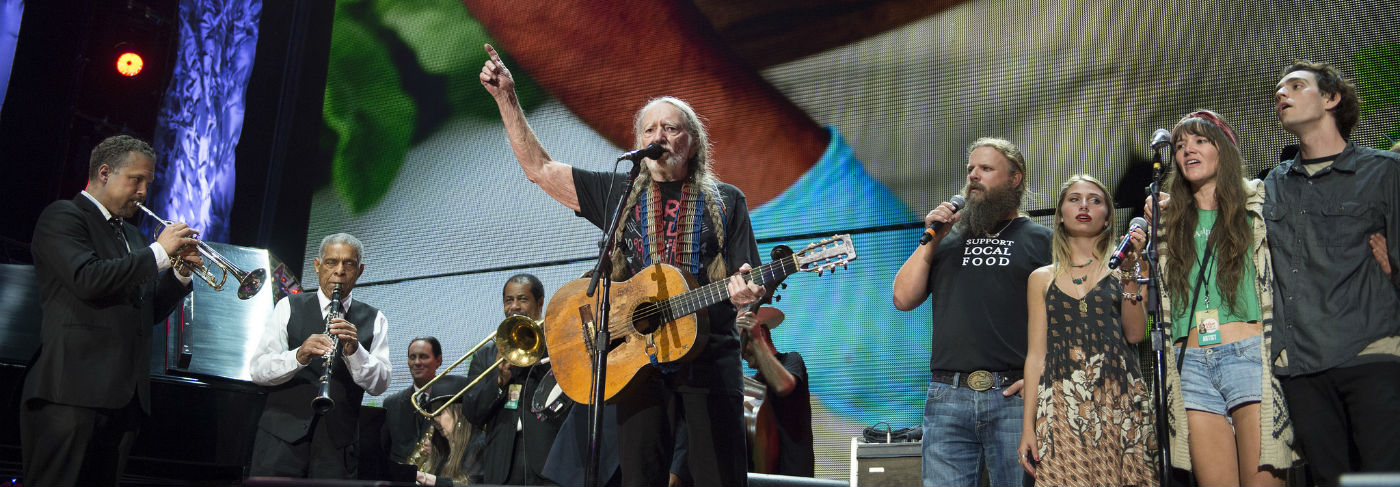 Willie Nelson Farm Aid celebrity activists
