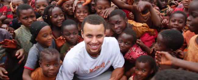 Stephen Curry celebrity activists