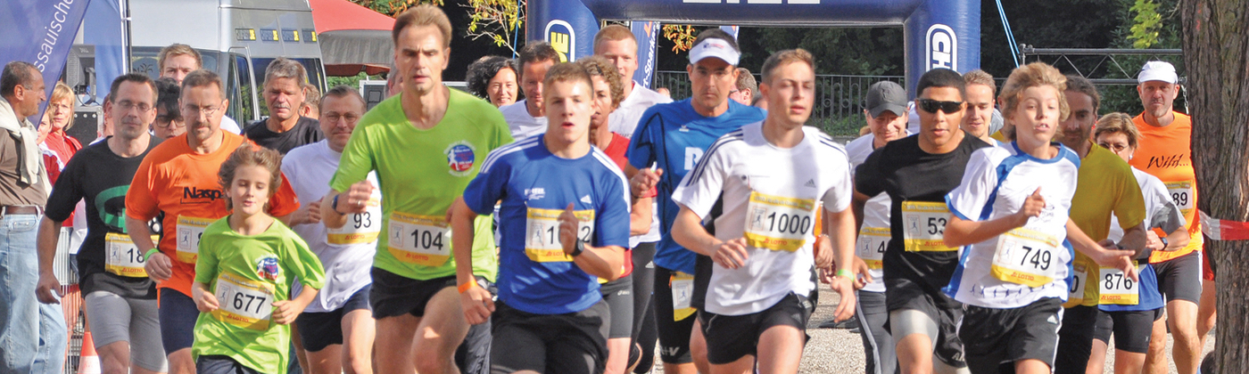 runners participating in a fundraising event