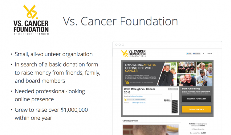 Vs Cancer nonprofit