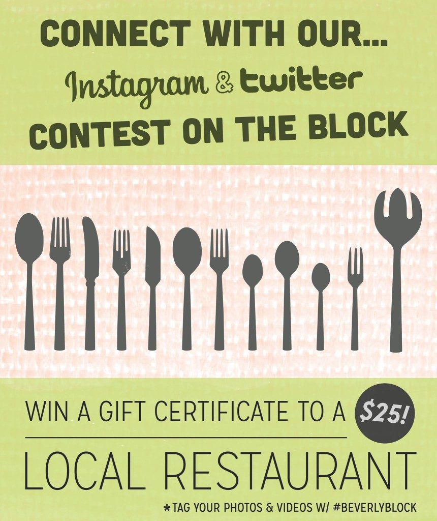 Beverly Main Streets Instagram Contest