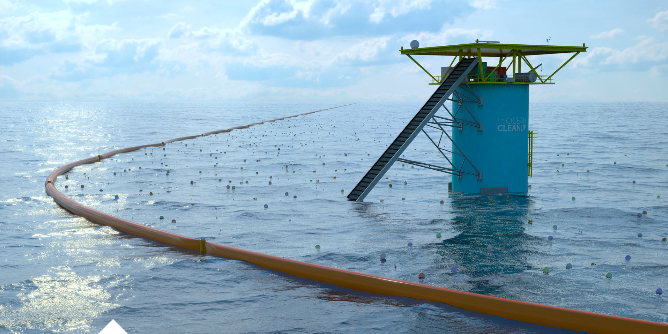 Ocean Cleanup crowdfunding