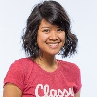 profile photo of Natalie Bui, lead researcher and evaluator for the Classy awards