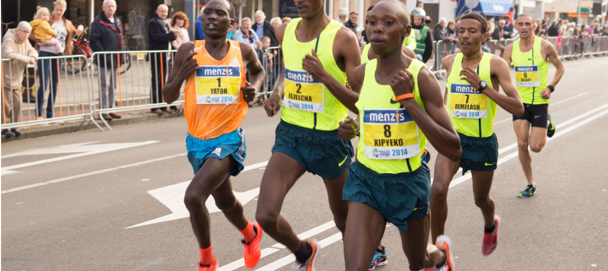 Image of 5K runners participating in a race