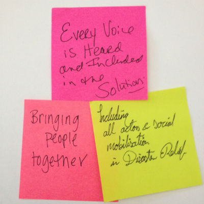 voice of all actors post-it