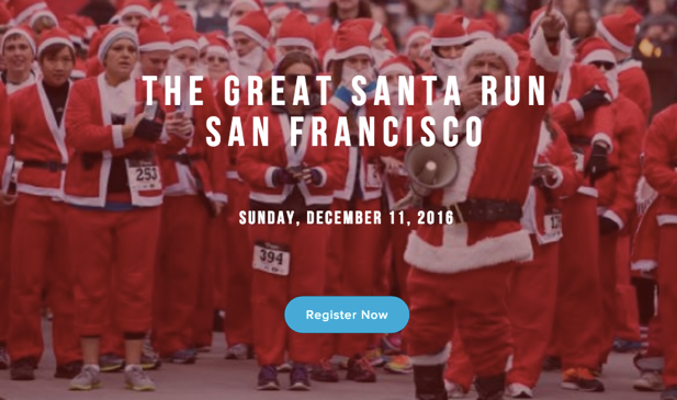 San Francisco Santa Run