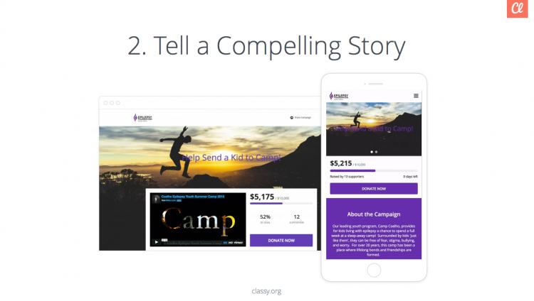 crowdfunding webinar story slide