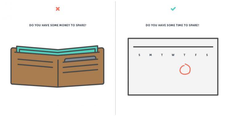 fundraising psychology illustration
