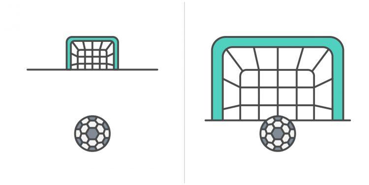 goal proximity illustration