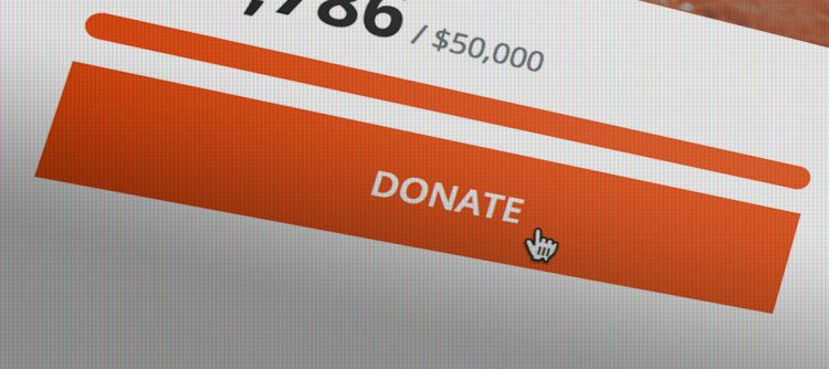 donate button header