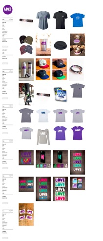 Image of Love Your Brain's Retail Site