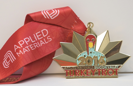 Applied Materials Race Medal